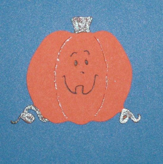 "3"" Pumpkin Die Cut"