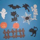 Assorted Halloween Die Cuts - 6 pcs
