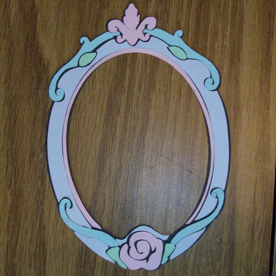 """6"""" Sleeping Beauty Picture Frame"""