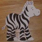 """2"""" Zebra Die Cut"""