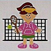 "3"" Customized Tennis Player"