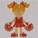 "3"" Customized Cheerleader"