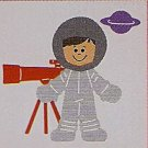 "3"" Customized Astronaut"