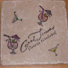 """Good Times Simple Pleasures"" Trivet"