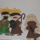 3' Nativity Scene - 6pc Die Cut