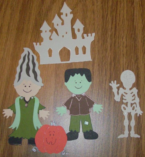 "3"" Frankenstein and Bride Set - 5pcs"