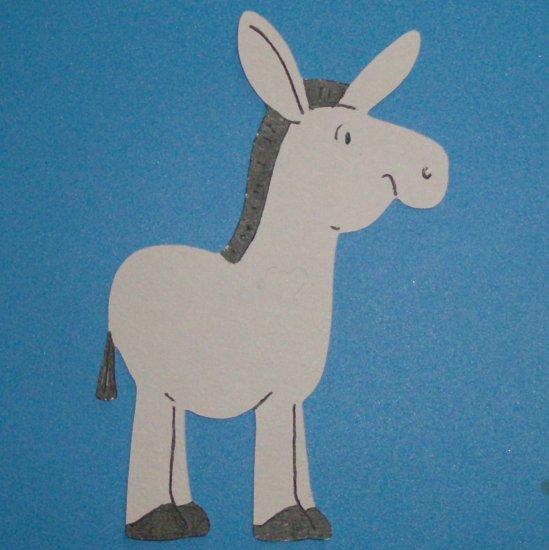 """3"""" Donkey Die Cut"""