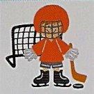"3"" Customized Hockey Player"