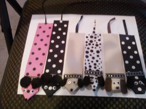 Ribbon Animal Bookmarks