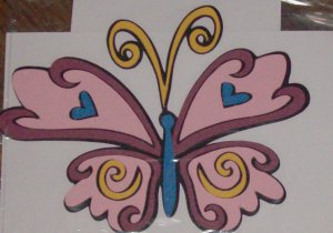 "3 1/2""  Tinkerbell's Butterfly Friend"