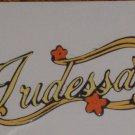 "2""  Tinkerbell's Iridessa Name Plate"