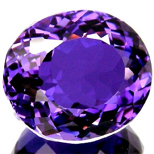 23.40 Ct.Attractive Clean Oval Natural Purple AMETHYST