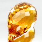 9.27 Ct.Winsomeness! Briolette Top Orange Citrine Brazil