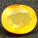 1.74 Ct.Attractive Oval 100%Natural Yellow OPAL Mexico