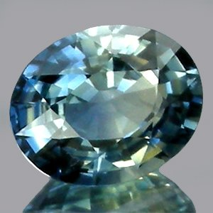 Impressive 100%Natural Blue Green SAPPHIRE UnHeated