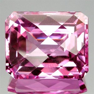 20.23Ct.Greatful Square Checkerboard Natural Pink Topaz