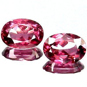 2.10 Ct.Delightful Natural Pinkish Red RHODOLITE GARNET
