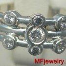 .30ct 14kt White Gold Genuine Diamond Right Hand Ring