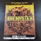 Bad Boys 1 & 2 4K UHD in Metal Case
