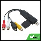AV Video Input Adapter With Video Recording Editing Software For Laptop/PC