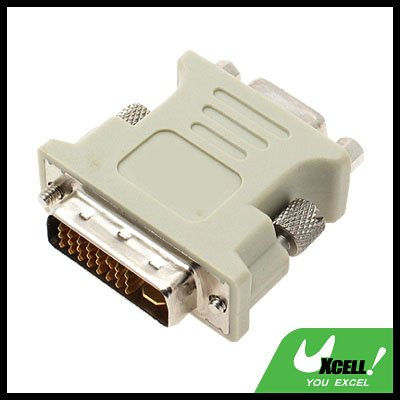 DVI-D Male to VGA Female Converter Adapter