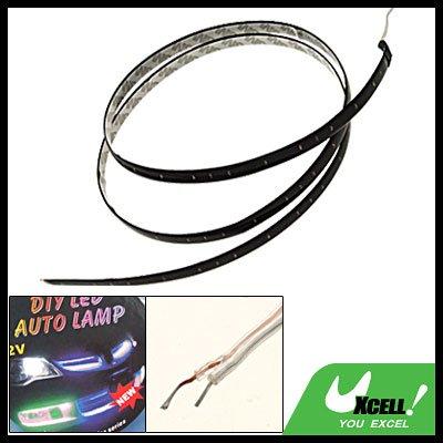 Car 120CM 60 White LED Linear Flexible Strip  Light 12V