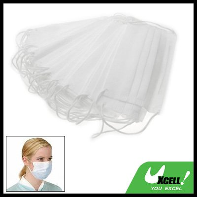50pcs Non-Woven Surgical Dust Medical Face Mask