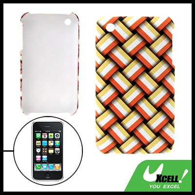 Anti-Slip Hard Plastic Case for Apple iPhone 3G