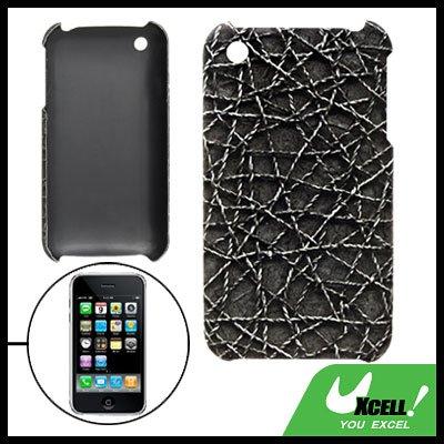 Anti-Slip Hard Plastic Back Case for Apple iPhone 3G