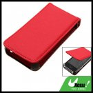 Anti-Slip Leather Protective Vertical Case for Apple iPhone 3G