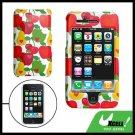 Fruit Design Hard Plastic Case Cover for Apple iPhone 3G