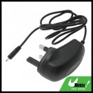 UK Plug Travel Charger for Mobile Phone NOKIA N95 - Black