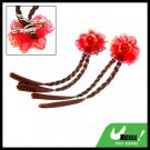 Stylish Girls' Hair Clip jewelry w/ Extension Hairpiece