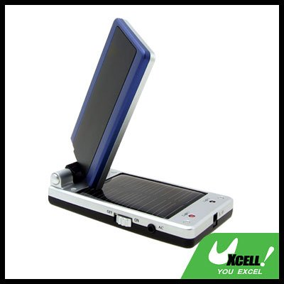 Clamshell Solar Energy Charger for Mobile Cell Phone Nokia Samsung Sony Ericsson MP3 MP4
