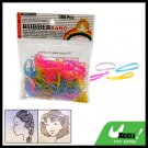 Colorful Hair Rubber Bands for Ponytails and Braids