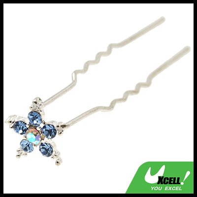 Ladies Beauty Jewelry Rhinestone Hair Decor Stick