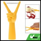 Yellow V Gesture Fruit Apple Vegetable Peeler Parer