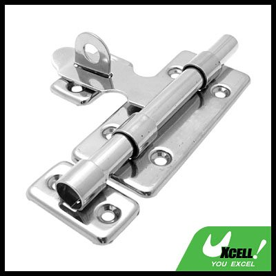 Stainless Steel Door Barrel Bolt with Padlock Clasp