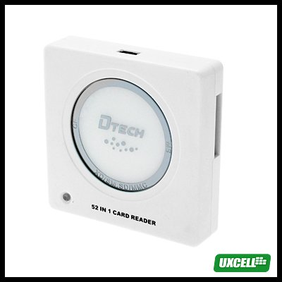 All In One Card Reader Writer & bluetooth Dongle - White