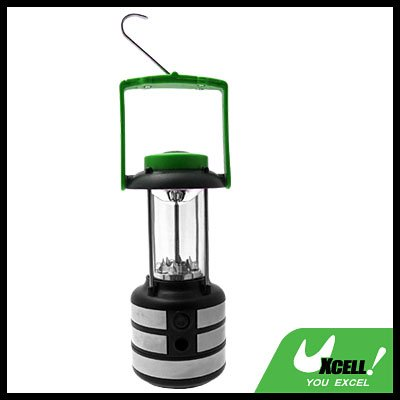Camping Super Bright 9-LED Battery Compass Lantern