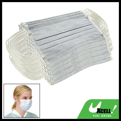 free shipping: Non-Woven Medical Surgical Dust Face Mask w. Ear Loop 50 pcs