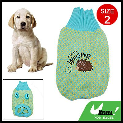 Size 2 Pet Cat Dog Puppy Doggle Winter Sweater Clothes