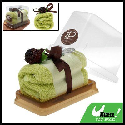 Kelly Classic Shower Bathing Gift Cake Towel Facecloth