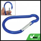 Snap Hook D Shape Aluminum Carabiner for Hiking Camping