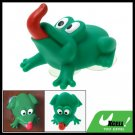 Cute Green Cartoon Frog Suction Cup Towel Hanger Hook