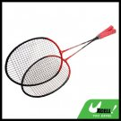 Red New Sport Badminton Racket Racquet for Girls Boys