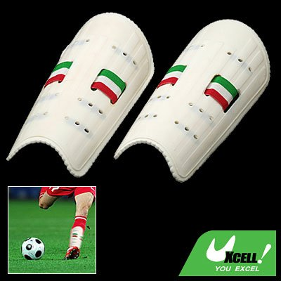 Youth Football Soccer Shin Plastic Guard Protector Medium
