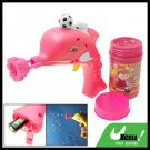 Children's Dolphin Football Soap Bubble Gun Water hubble-bubble Toy