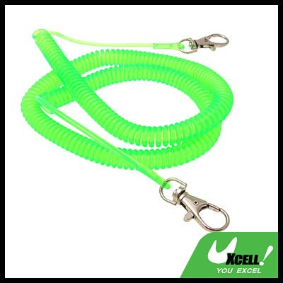 Plastic Anti-droping Spring Band Fishing Accessory