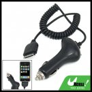 Car Charger Adapter with Coil Cord for Apple iPhone 1st Generation